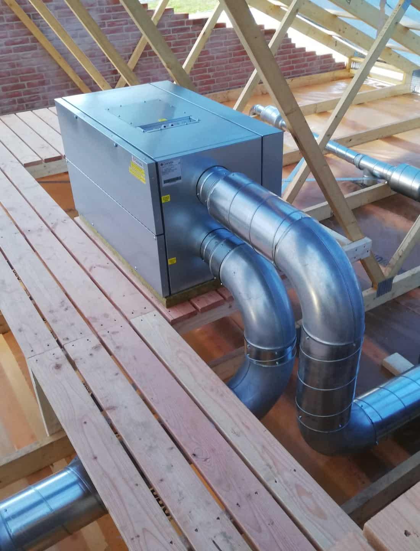 ventilation med varmegenvinding